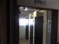 女性個室入口幅55cm