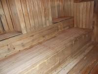 サウナ室入口幅74cm