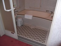 浴室入口幅80cm
