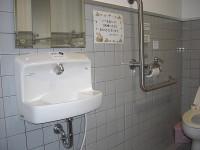 手洗いの高さ69cm