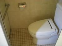 宴会場前、女子トイレ