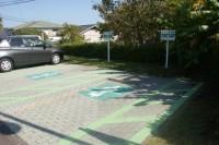 砂楽の駐車場を利用