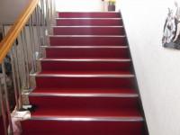 階段幅130cm、高さ18cm、20段