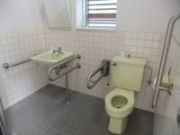 温泉ドーム横トイレ、入口幅95cm
