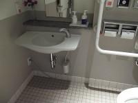 3階、手洗いの高さ65cm