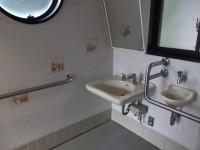 手洗いの高さ64cm