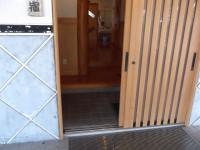 やっちく松山藩御宿の入口幅70cm