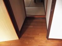 入口幅72cm、段差10cm