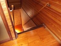 階段幅116cm