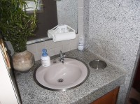 手洗いの高さ76cm