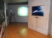 展示室通路幅200cm