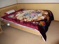 ベッドの高さ47cm