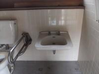 手洗いの高さ63cm