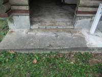 入口幅100cm 段差14cm×1段、5cm×1段