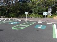 唐船峡共通駐車場
