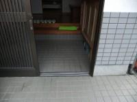 入口幅84㎝、上がりかまち2段