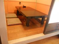 上がりかまち30cm、テーブルの高さ32cm