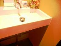 手洗いの高さ72cm