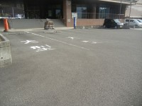大型駐車場2台