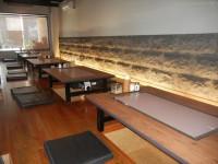 テーブルの高さ30cm(堀)