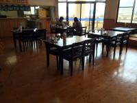 テーブルの高さ64cm