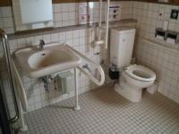 便座の高さ40㎝ 手洗いの高さ65㎝