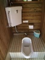 バンガロー内トイレ