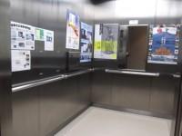 エレベーター入口幅105cm