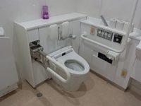 館内トイレ 便座の高さ40㎝