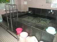 浴槽手すりは女湯のみあり