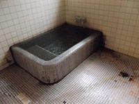 浴室入口幅74cm