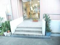 裏口(駐車場横)入口幅85cm