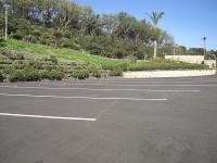 大型駐車場6台