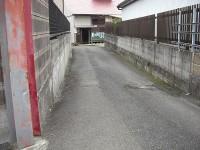 こらんゆ温泉への入口通路