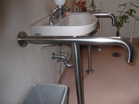 手洗いの高さ62cm