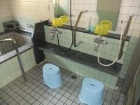 家族湯内にトイレあり