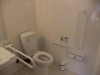 簡易オストメイト機能付きBFトイレあり