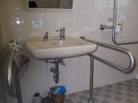 手洗いの高さ68cm