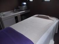岩盤浴のベッドの高さ42cm