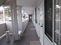 客室への通路幅120cm