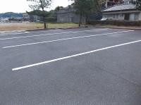 大型バス駐車場6台