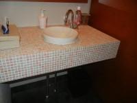 洗面台の高さ64cm
