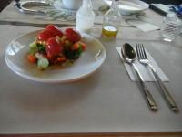 自作農園のサラダ