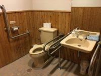 トイレ内全景