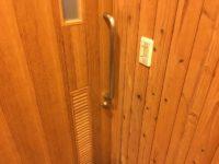 ドアが少し重い
