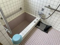 浴室入口幅77cm